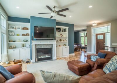 East Lansing Home Builders Living Room 35357572